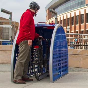 Bike Locker | Metal | Veloport
