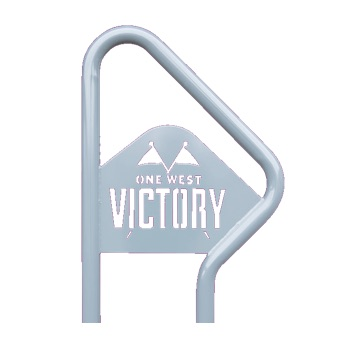 Bike Parking | Logo Rack | Victory