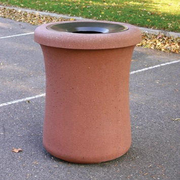 Precast Trash Can | Round | 39 Gallons | 1010
