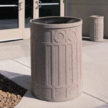 Precast Trash Can | Round | 39 Gallons | 1041
