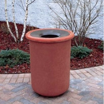 Precast Trash Can | Round | 26 Gallons | 1105