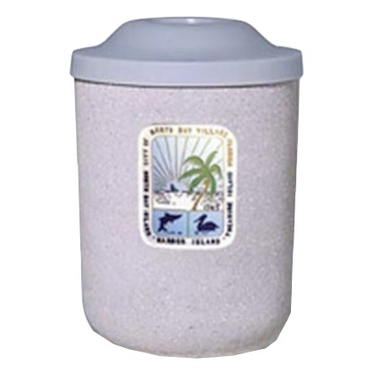 Precast Trash Can | Round | 53 Gallons | 1083