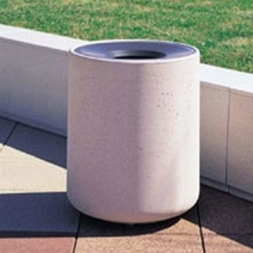 Precast Trash Can | Round | 42 Gallons | 1085