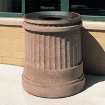 Precast Trash Can | Round | 31 Gallons | 1190