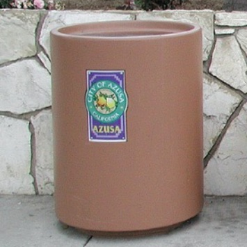 Precast Trash Can | Round | 39 Gallons | 1151