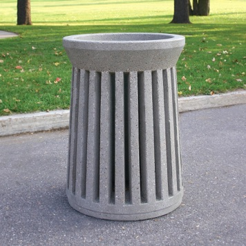 Precast Trash Can | Round | 41 Gallons | 100