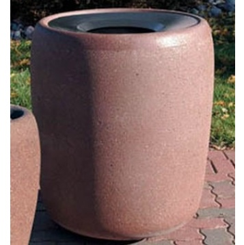 Precast Trash Can | Round | 42 Gallons | 1188