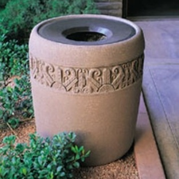 Precast Trash Can | Round | 42 Gallons | 1185