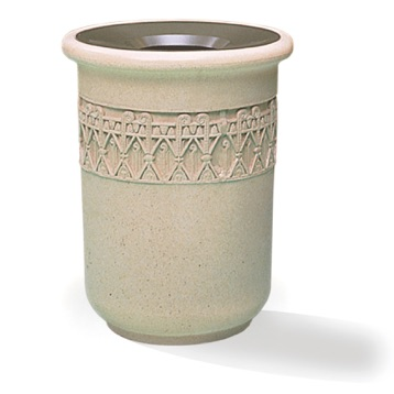 Precast Trash Can | Round | 24  Gallons | 1115