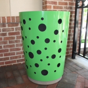 Trash Can | Round | Select 303 SQ