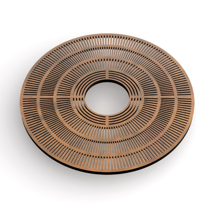 Tree Grate | Metal | Sunburst Round