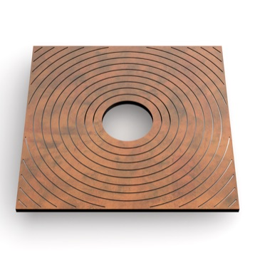 Tree Grate | Metal | Ring Square