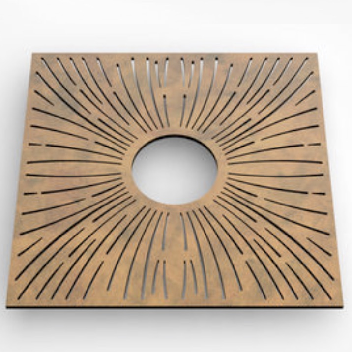 Tree Grille | Metal | Splash Square