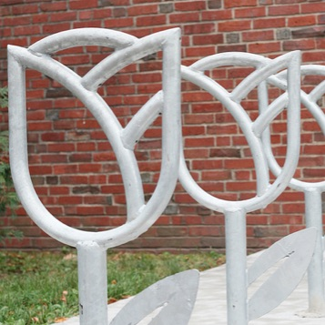 Bike Parking | Bike Rack Art | Tulip