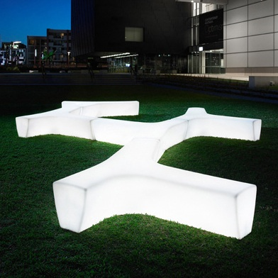 Tp Twig Led Bench Streetscapes