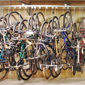 Bike Room | Track Rack