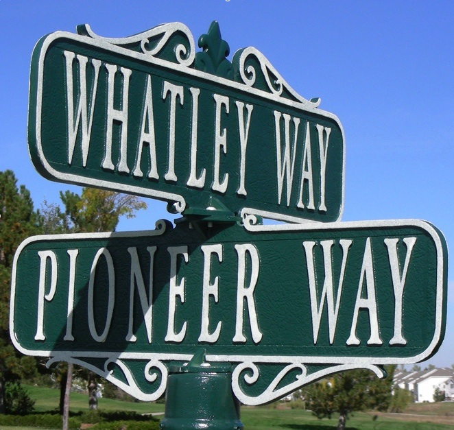 Street Sign | Decorative | Victorian | Four Way