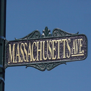 Street Sign | Decorative | Victorian | 25x6