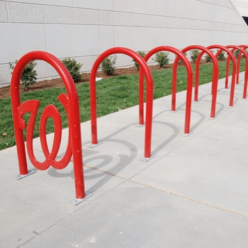 Bike Parking | Logo Rack | Washington Nationals